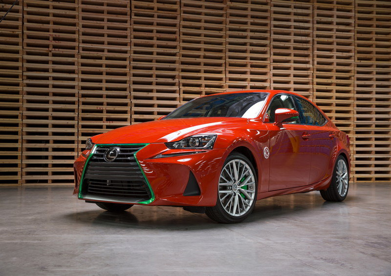 Lexus Gets Spicy With The Sriracha IS In Los Angeles