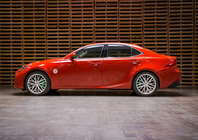Lexus Gets Spicy With The Sriracha IS In Los Angeles High Resolution Exterior - image 695728
