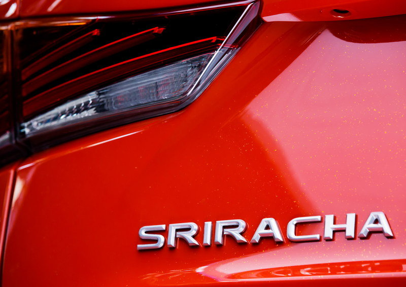 Lexus Gets Spicy With The Sriracha IS In Los Angeles High Resolution Exterior - image 695711