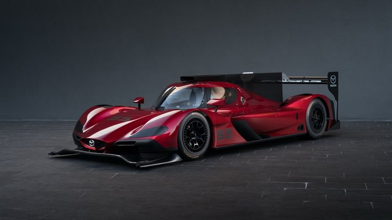 Mazda Brings Gorgeous Prototype Race Car to L.A. High Resolution Exterior - image 695948