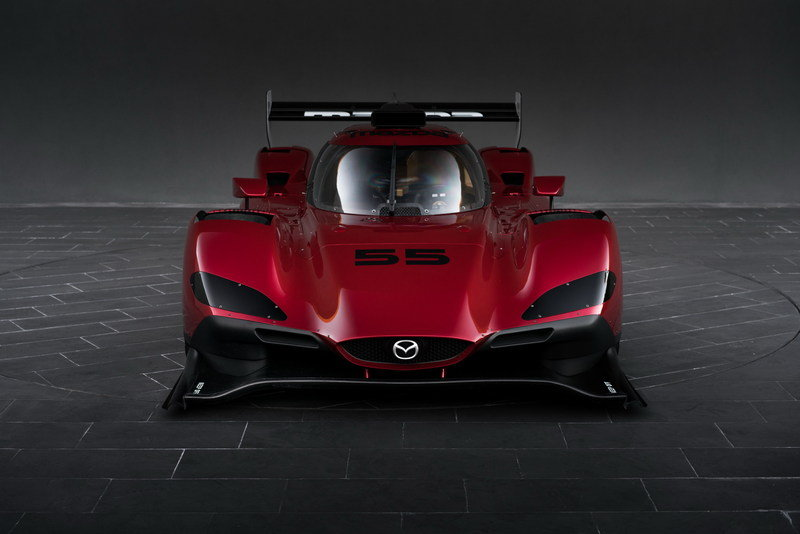 Mazda Brings Gorgeous Prototype Race Car to L.A. High Resolution Exterior - image 695871
