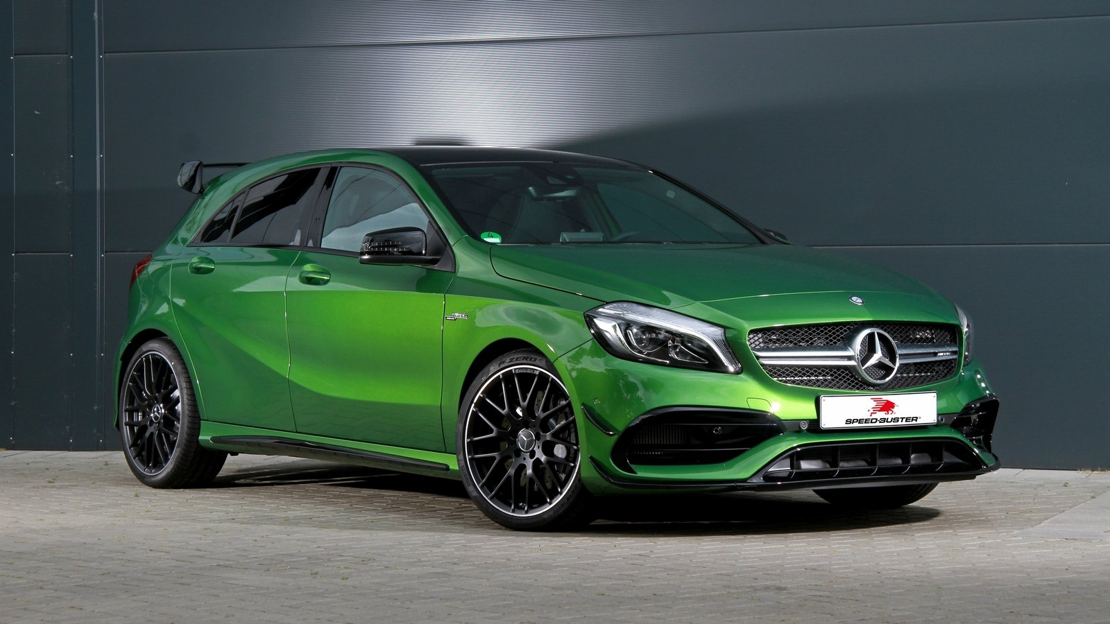 2016 mercedes amg a45 by speed buster top speed. Black Bedroom Furniture Sets. Home Design Ideas
