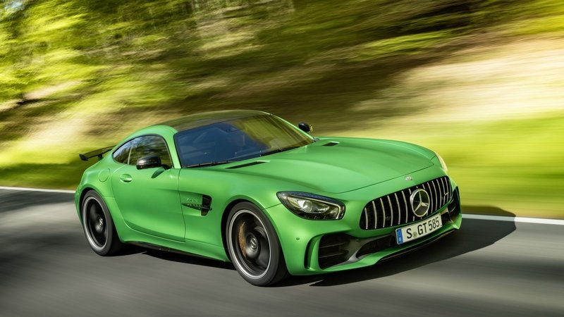 Mercedes-AMG to Launch GT C Coupe in 2017; GT R Roadster May Follow