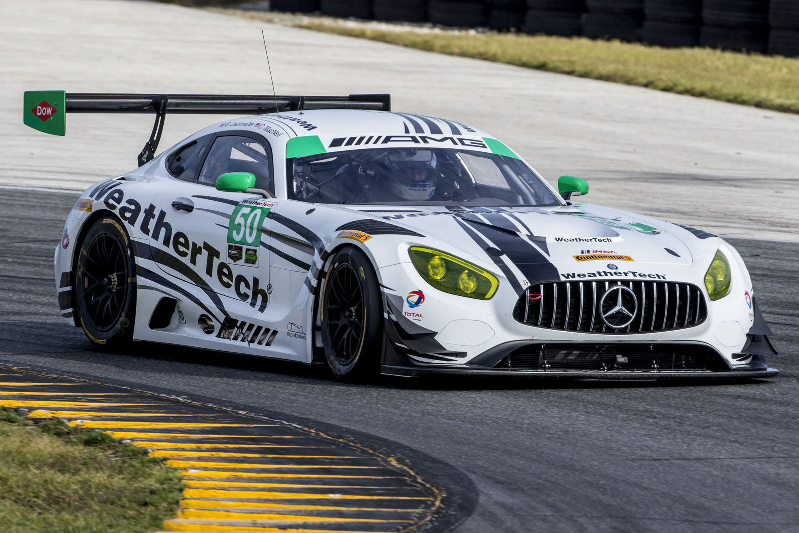 Mercedes amg joins imsa with amg gt3 race car picture for Mercedes benz race cars