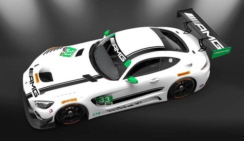 Mercedes-AMG Joins IMSA with AMG GT3 Race Car