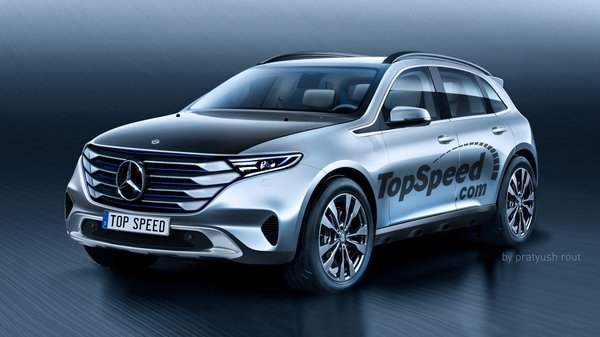 Mercedes-Benz All-Electric SUV