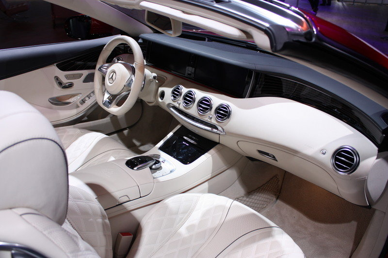 2018 Mercedes-Maybach S650 Cabriolet High Resolution Interior - image 696177