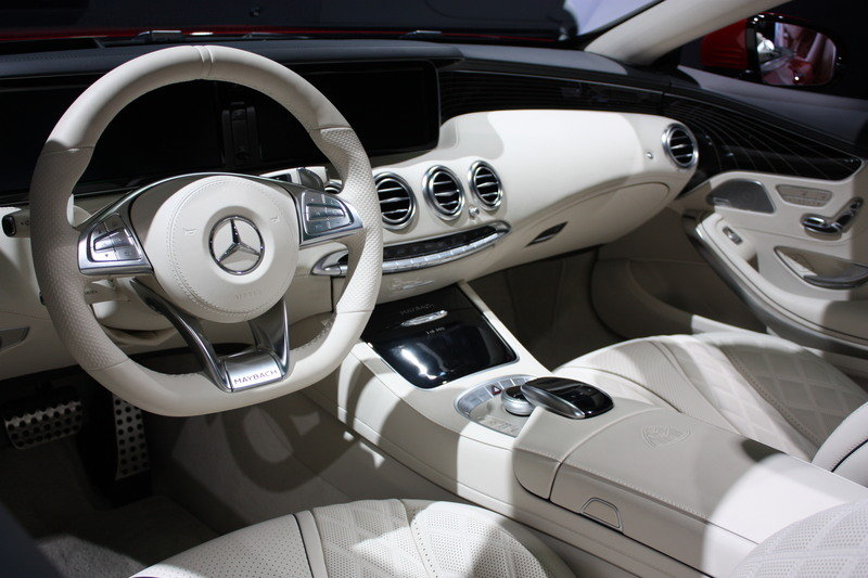 2018 Mercedes-Maybach S650 Cabriolet High Resolution Interior - image 696178