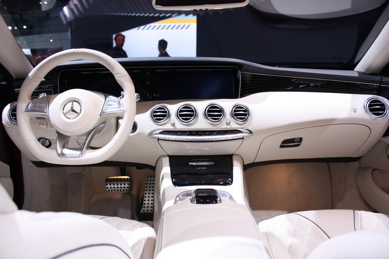 2018 Mercedes-Maybach S650 Cabriolet High Resolution Interior - image 696183