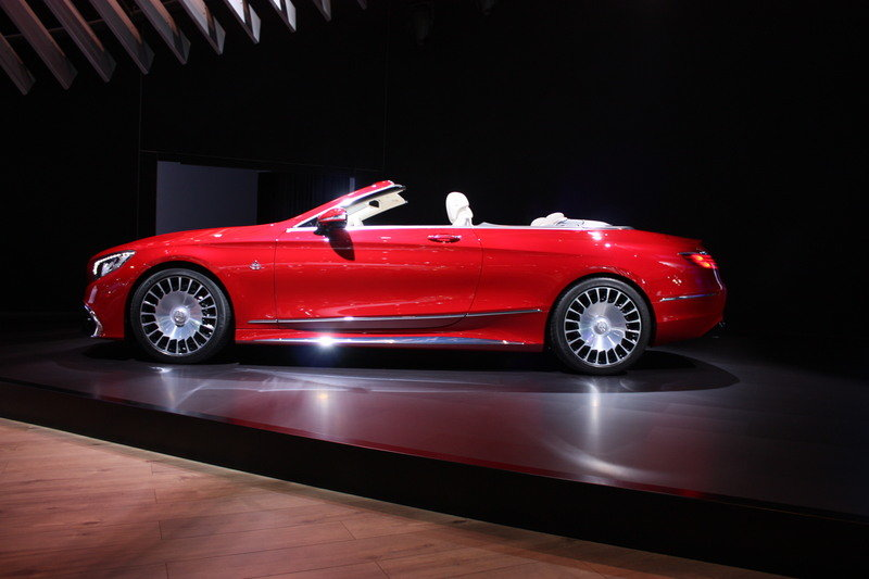 2018 Mercedes-Maybach S650 Cabriolet High Resolution Exterior - image 696161