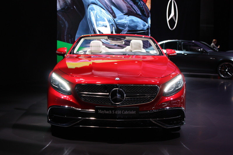 2018 Mercedes-Maybach S650 Cabriolet High Resolution Exterior - image 696158