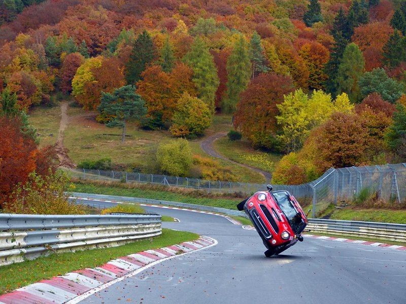 Mini Cooper Sets Different Kind Of Record At The Nürburgring: Video