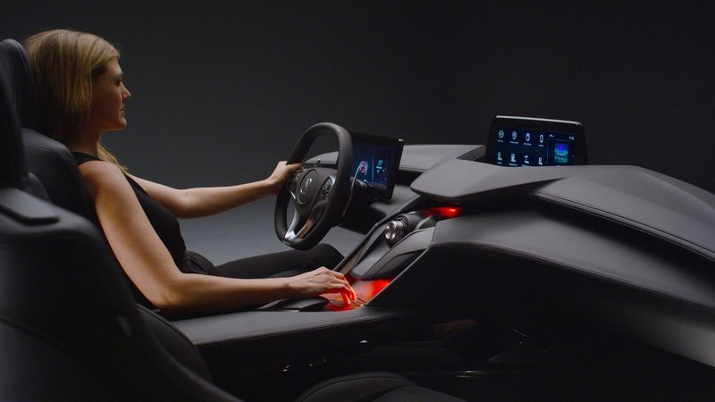 Precision Cockpit Hints At The Future Of Acura's Cabins