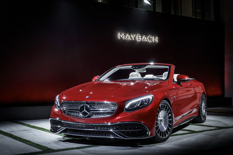 2018 Mercedes-Maybach S650 Cabriolet High Resolution Exterior AutoShow - image 695661