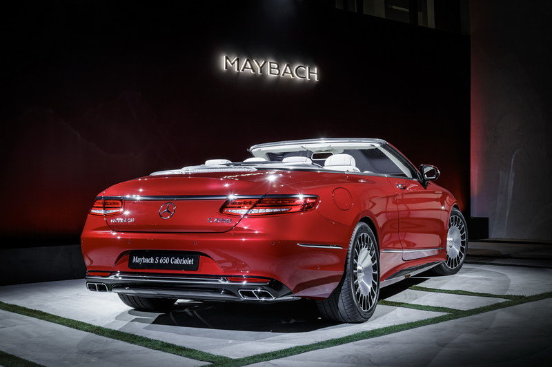 2018 Mercedes-Maybach S650 Cabriolet High Resolution Exterior AutoShow - image 695663