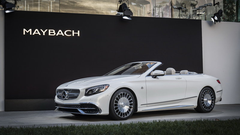 2018 Mercedes-Maybach S650 Cabriolet High Resolution Exterior AutoShow - image 695672