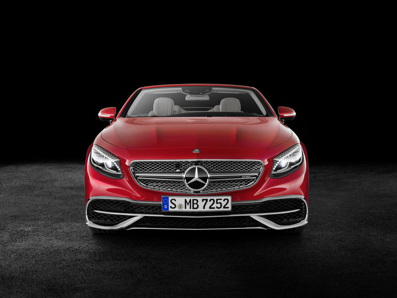 2018 Mercedes-Maybach S650 Cabriolet High Resolution Exterior - image 695681