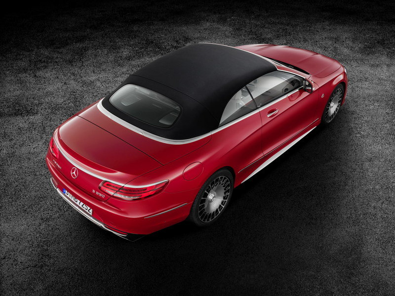 2018 Mercedes-Maybach S650 Cabriolet High Resolution Exterior - image 695685
