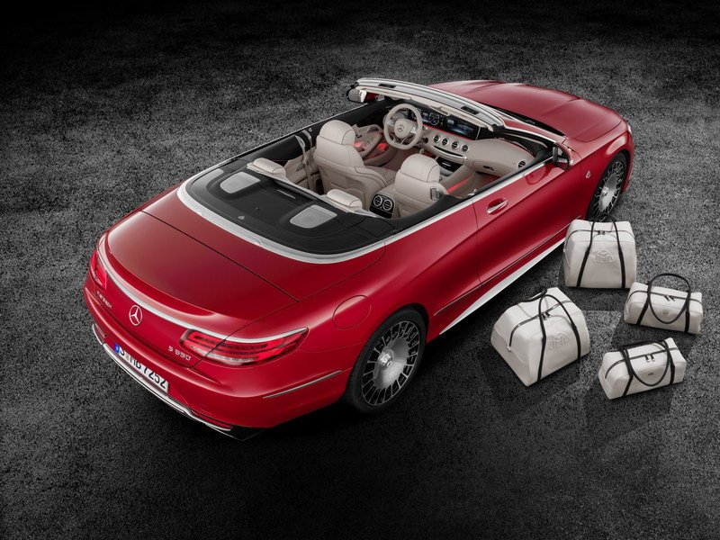 2018 Mercedes-Maybach S650 Cabriolet High Resolution Exterior - image 695686