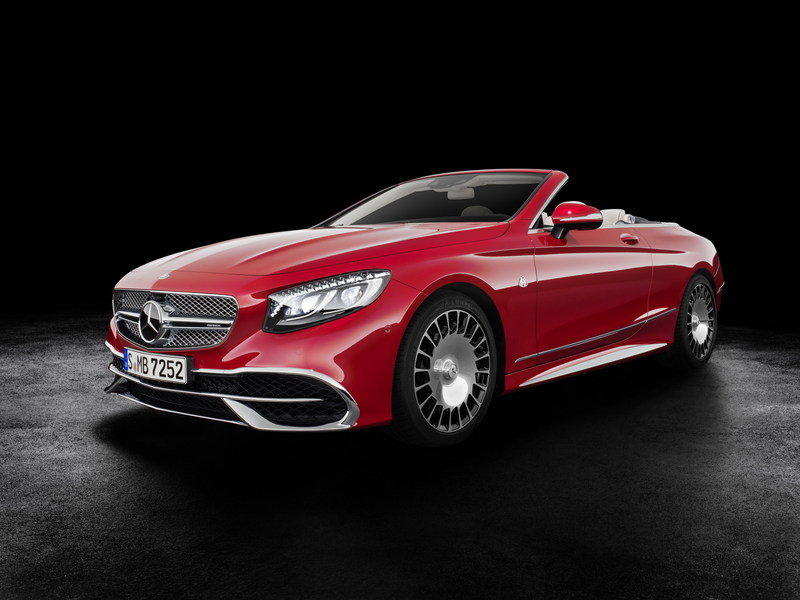 2018 Mercedes Maybach S650 Cabriolet Top Speed