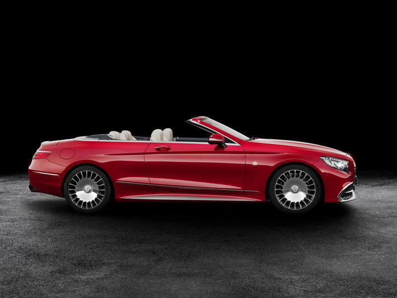 2018 Mercedes-Maybach S650 Cabriolet High Resolution Exterior - image 695689