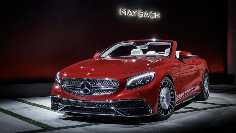 Spoil Yourselves Silly With The Mercedes-Maybach S650 Cabriolet High Resolution Exterior AutoShow - image 695731
