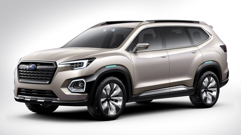 Subaru Unveils VIZIV-7 SUV Concept in Los Angeles High Resolution Exterior - image 696103