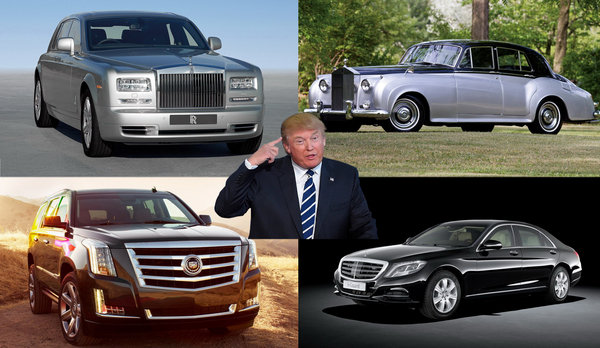 The Cars In Donald Trump S Garage Car News Top Speed