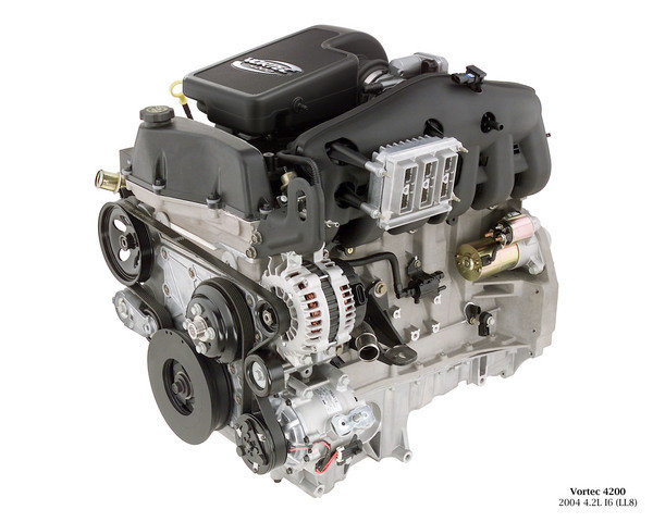 the forgotten inline engine gm s 4 2 liter atlas i 6 news top speed rh topspeed com 2003 Chevy Venture Engine Diagram 292 Chevy Engine Specs