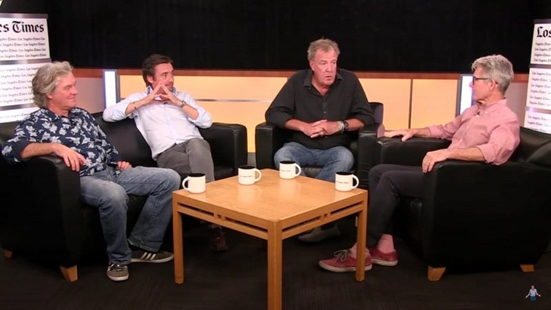 The Grand Tour Hosts Talk Shop With The Los Angeles Times: Video