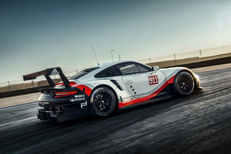 2017 Porsche 911 RSR Roars into L.A. Ahead of Track Debut