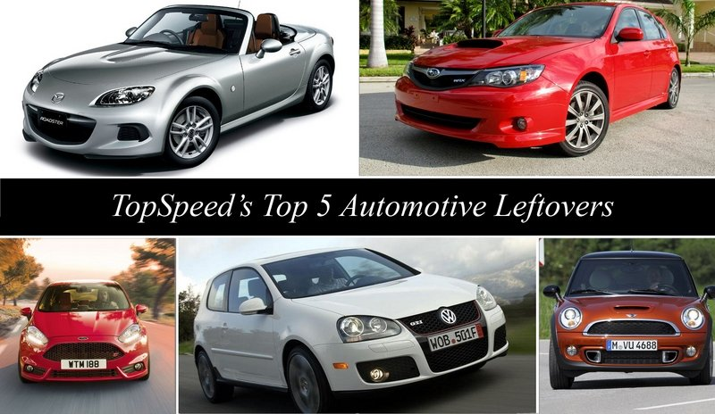 TopSpeed's Top 5 Automotive Leftovers