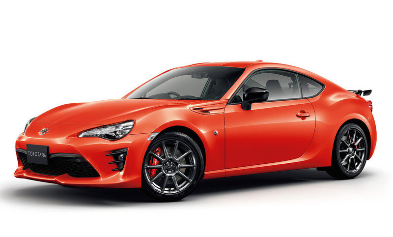 2017 Toyota 86 Solar Orange Limited