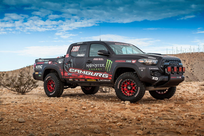 2016 Toyota Tacoma TRD Pro Race Truck High Resolution Exterior - image 694051