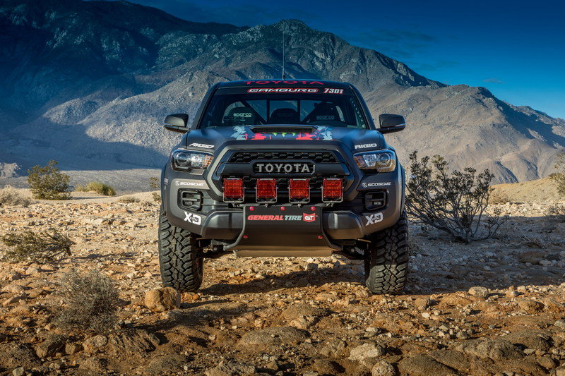 2016 Toyota Tacoma TRD Pro Race Truck High Resolution Exterior - image 694054