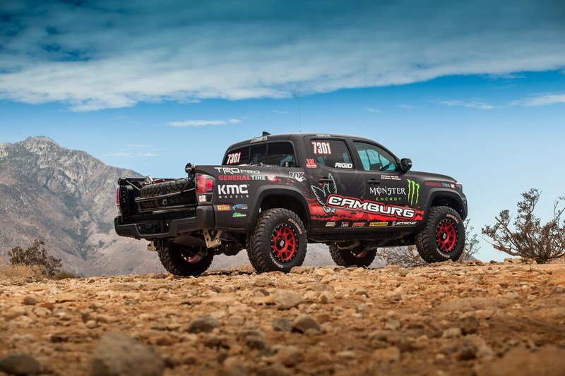 2016 Toyota Tacoma TRD Pro Race Truck High Resolution Exterior - image 694056
