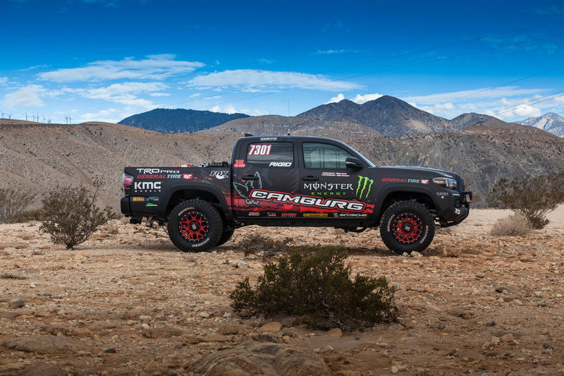 2016 Toyota Tacoma TRD Pro Race Truck High Resolution Exterior - image 694050