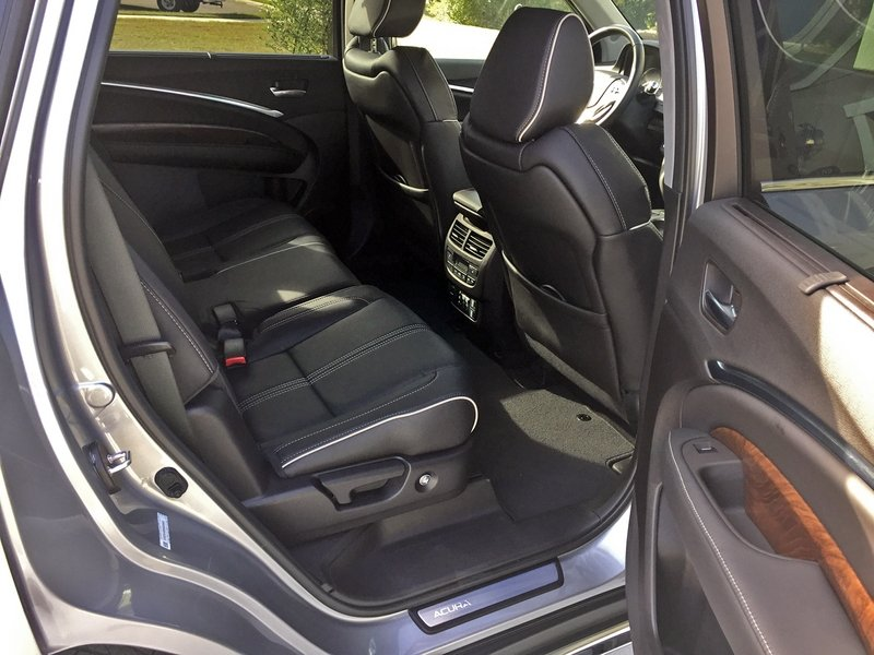 2017 acura mdx quick look rear seats news top speed. Black Bedroom Furniture Sets. Home Design Ideas
