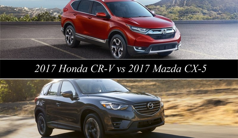 2017 Honda CR-V vs 2017 Mazda CX-5