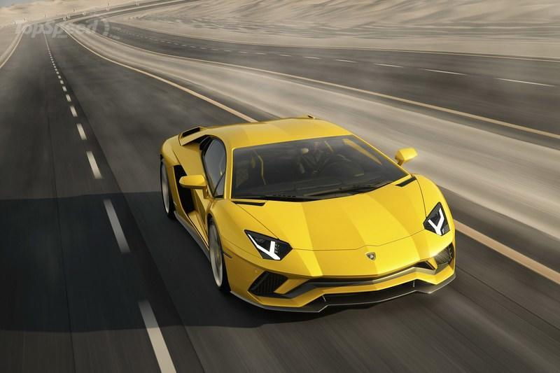 2018 Lamborghini Aventador S High Resolution Exterior - image 698832