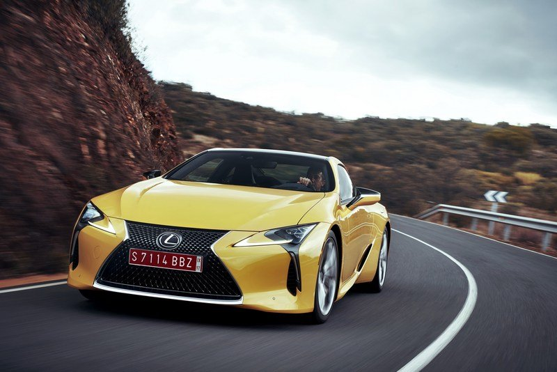 2018 Lexus LC 500 High Resolution Exterior - image 697837