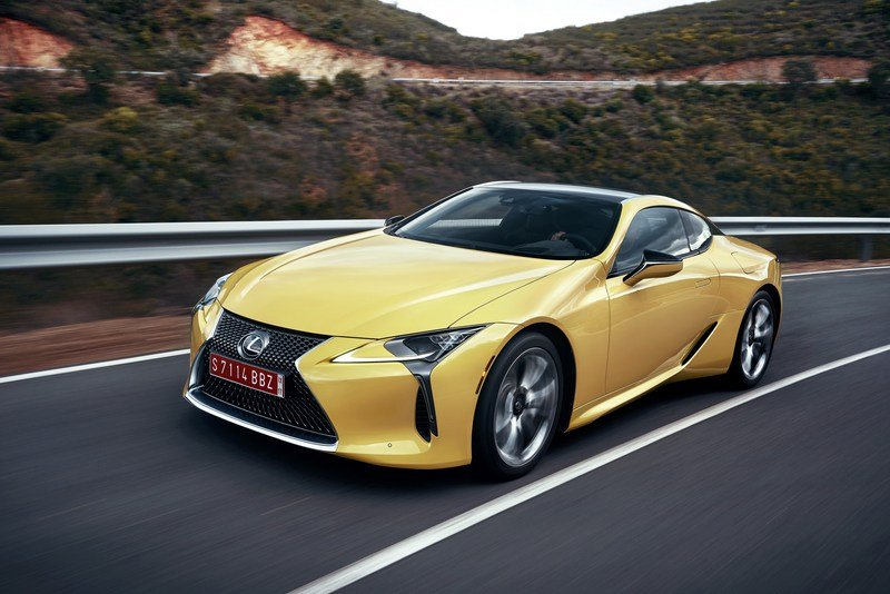 2018 Lexus LC 500 High Resolution Exterior - image 697840