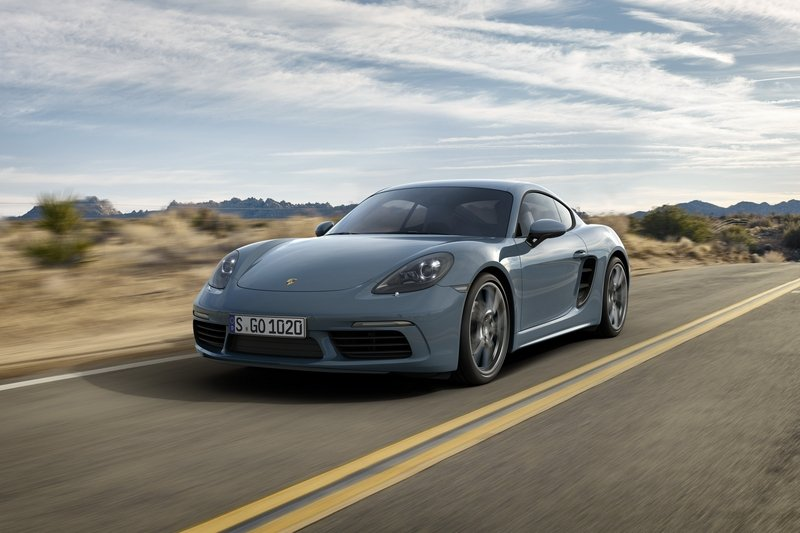 The 2019 Porsche Cayman T Will Sit Between the Cayman S and GTS with More Power and Less Weight
