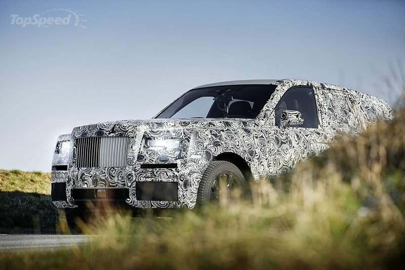 Rolls-Royce Will Debut the Cullinan on May 10th Exterior - image 697409