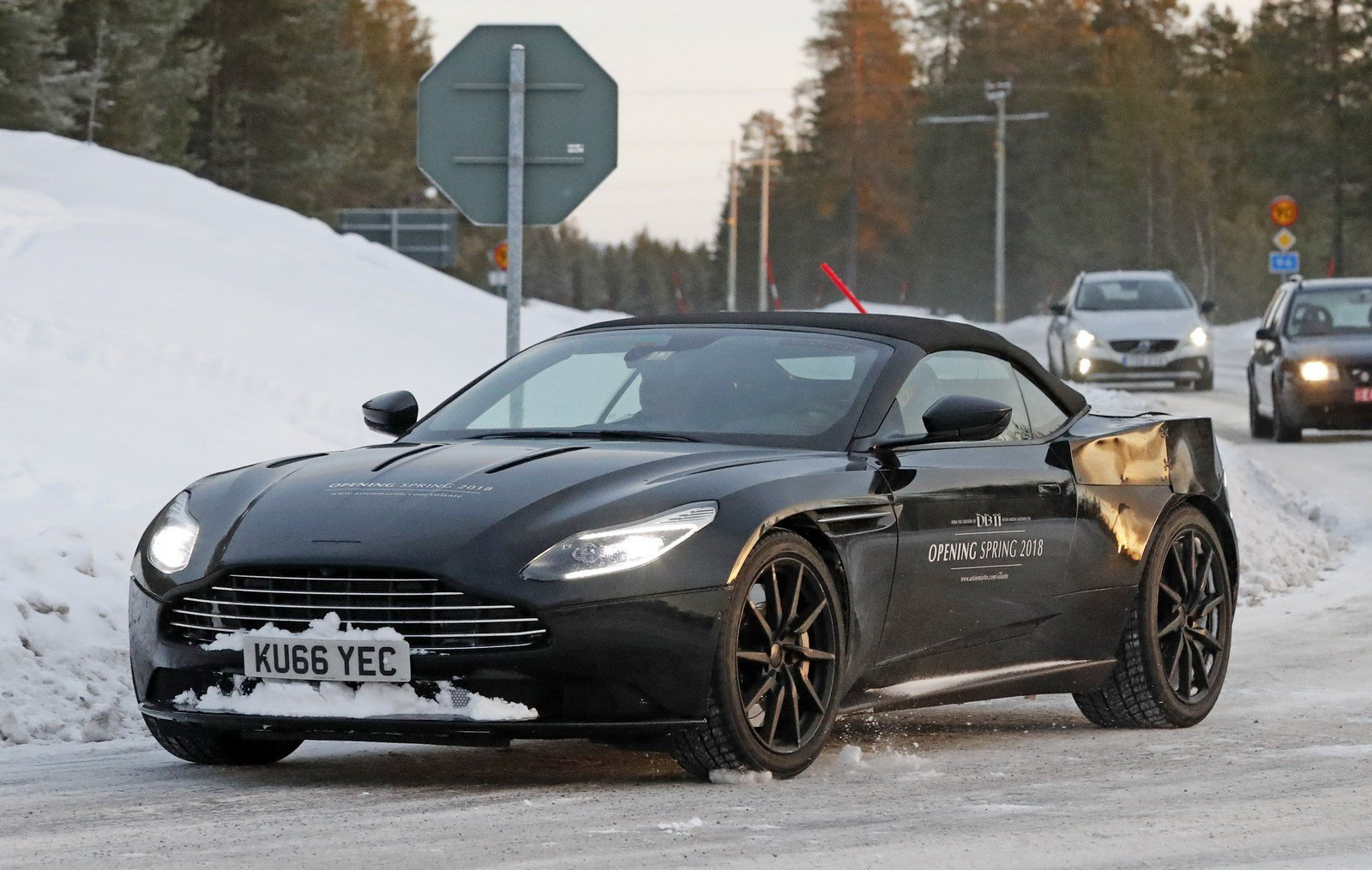 2018 aston martin db11 volante picture 698306 car review top speed. Black Bedroom Furniture Sets. Home Design Ideas