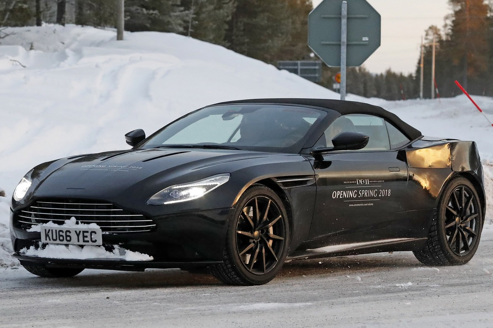 2018 aston martin db11 volante picture 698327 car review top speed. Black Bedroom Furniture Sets. Home Design Ideas