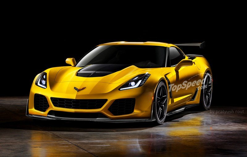 2019 Chevrolet Corvette ZR1 Exterior Exclusive Renderings Computer Renderings and Photoshop - image 698480