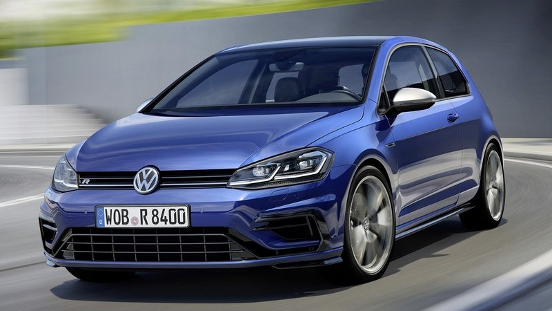 2018 Volkswagen Golf R Comes With More Power And Better Looks