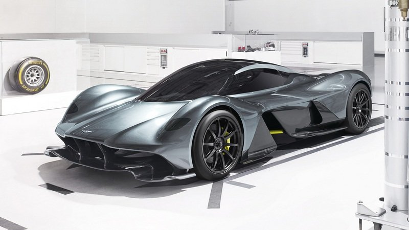 Aston Martin's AM-RB 001 Will Carry 250-MPH Top Speed