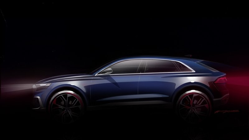 2017 Audi Q8 E-tron Concept Exterior Computer Renderings and Photoshop - image 699274